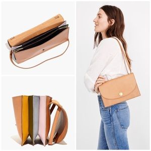 MADEWELL The Slim Convertible Bag: Rainbow Edition